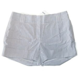 J.Crew City Fit pinstriped shorts